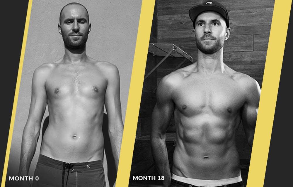 Rich Emmerson month vegan transformation