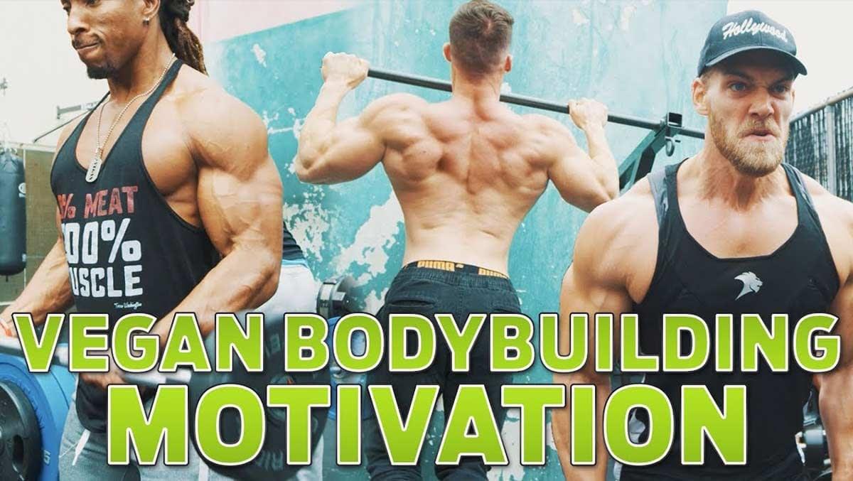 Vegan bodybuilding motivation