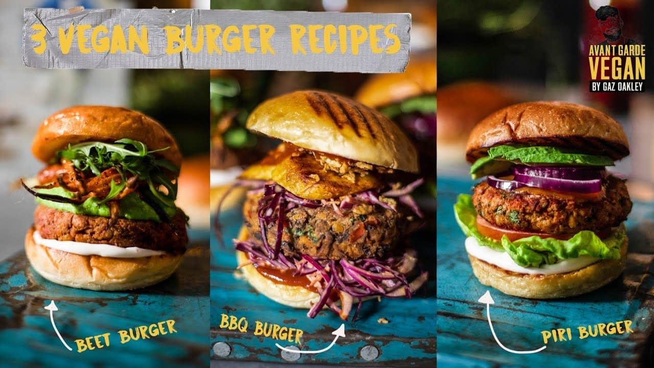 incredible vegan burger recipes