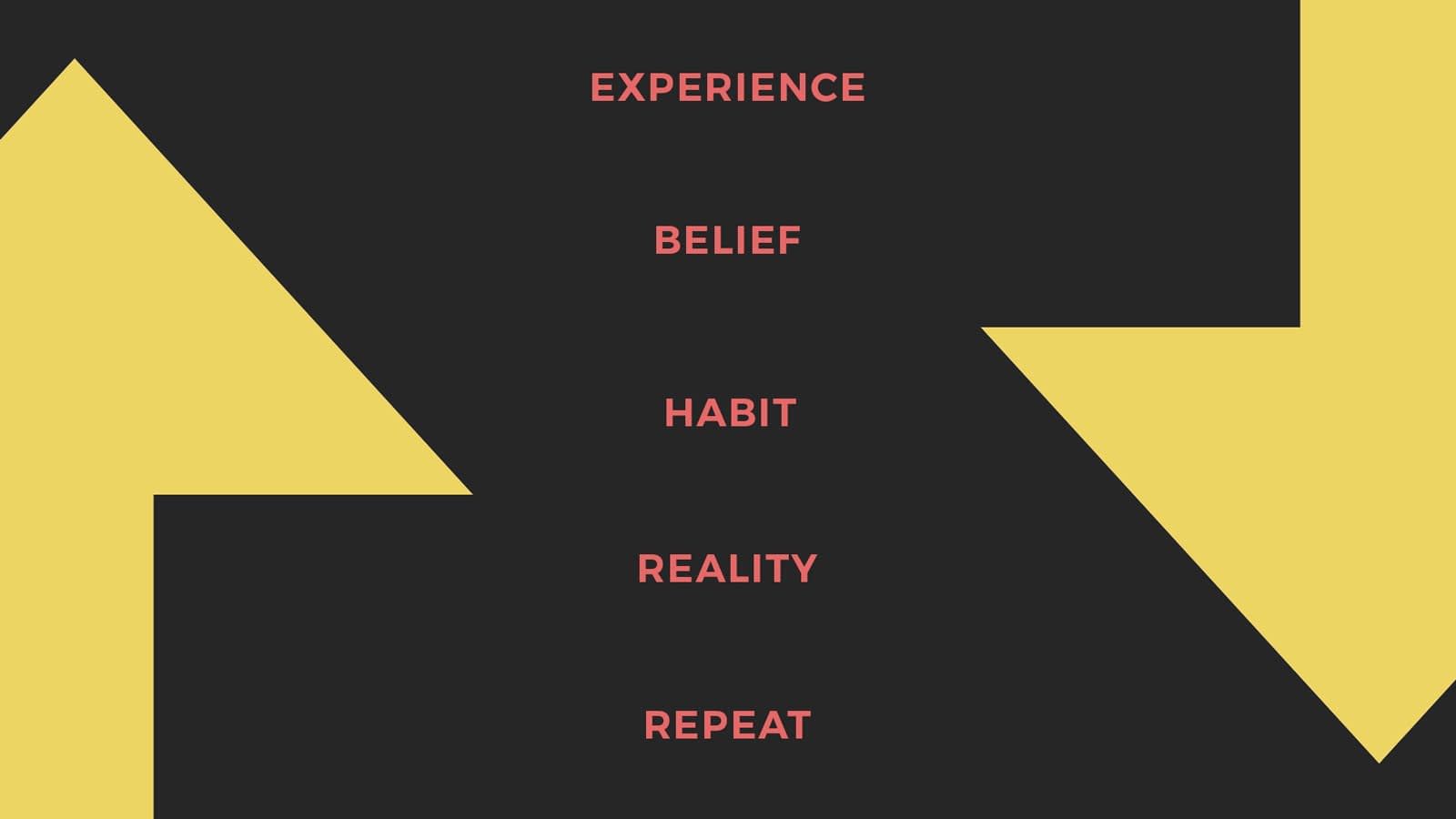 The process of developing habits routines and addictions