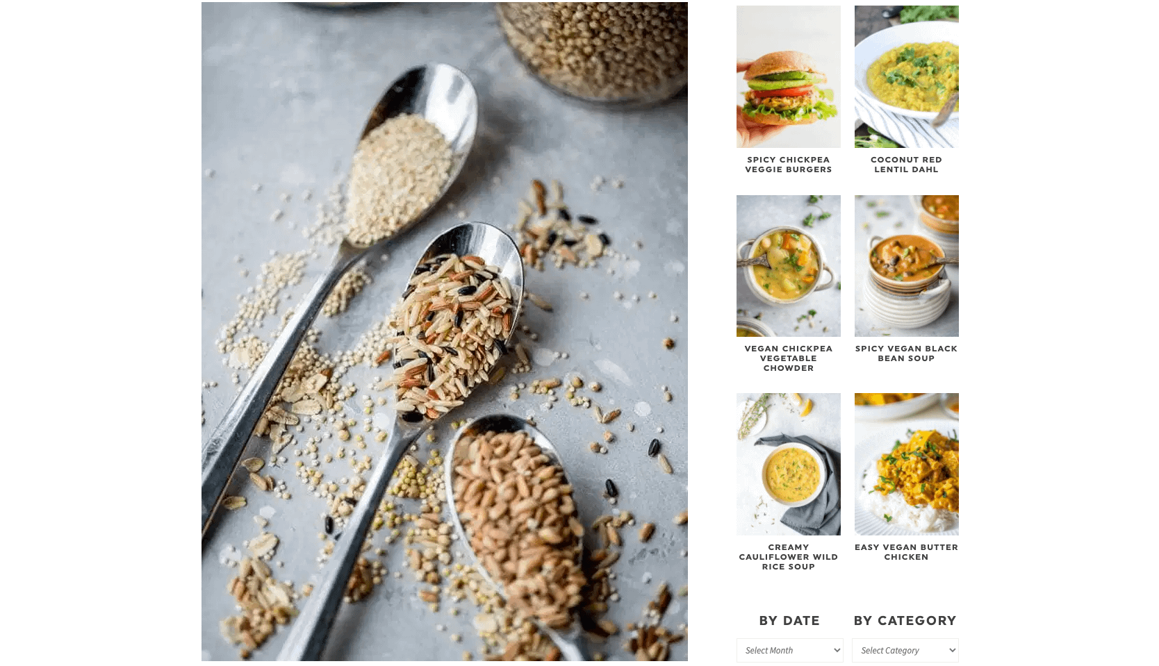 When going vegan, you must learn about the power of whole grains!
