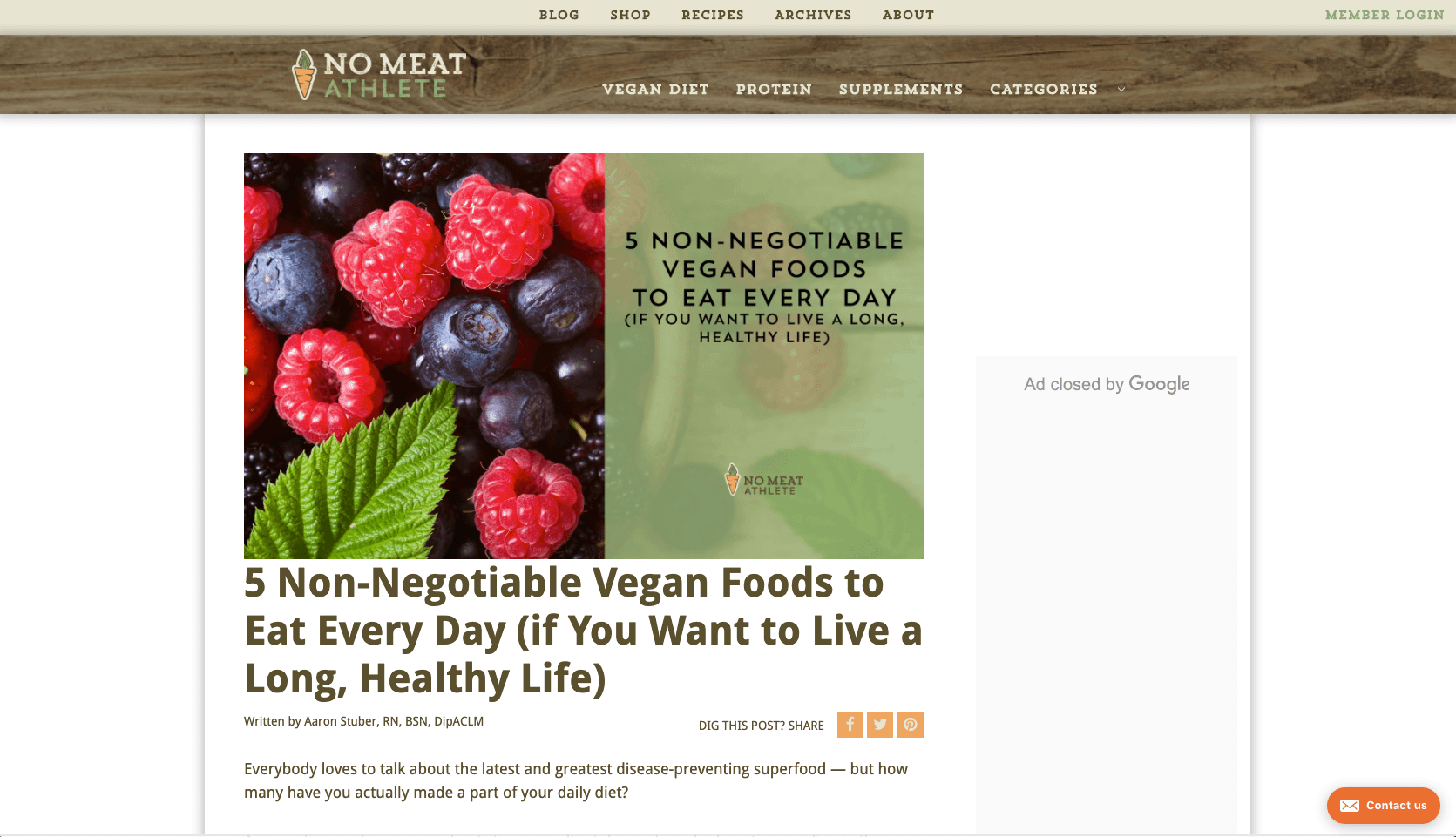 Non Negotiable Vegan Foods to Eat Every Day if You Want to Live a Long Healthy Life