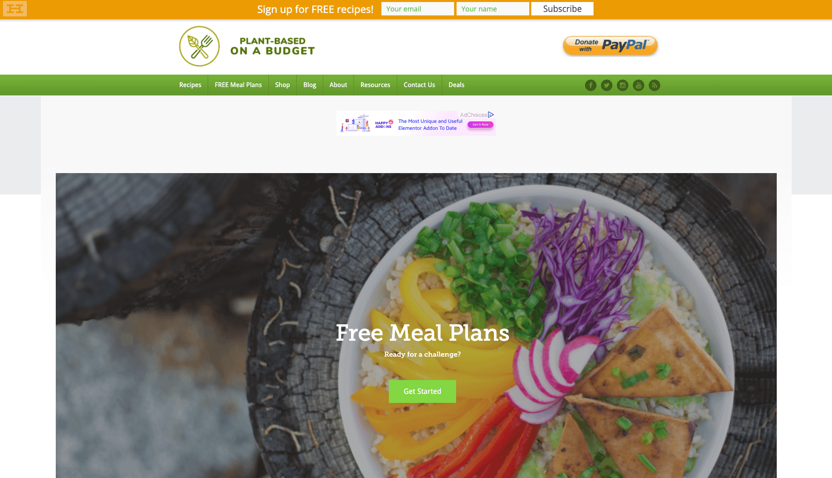 Going vegan is cheap with these free meal plans