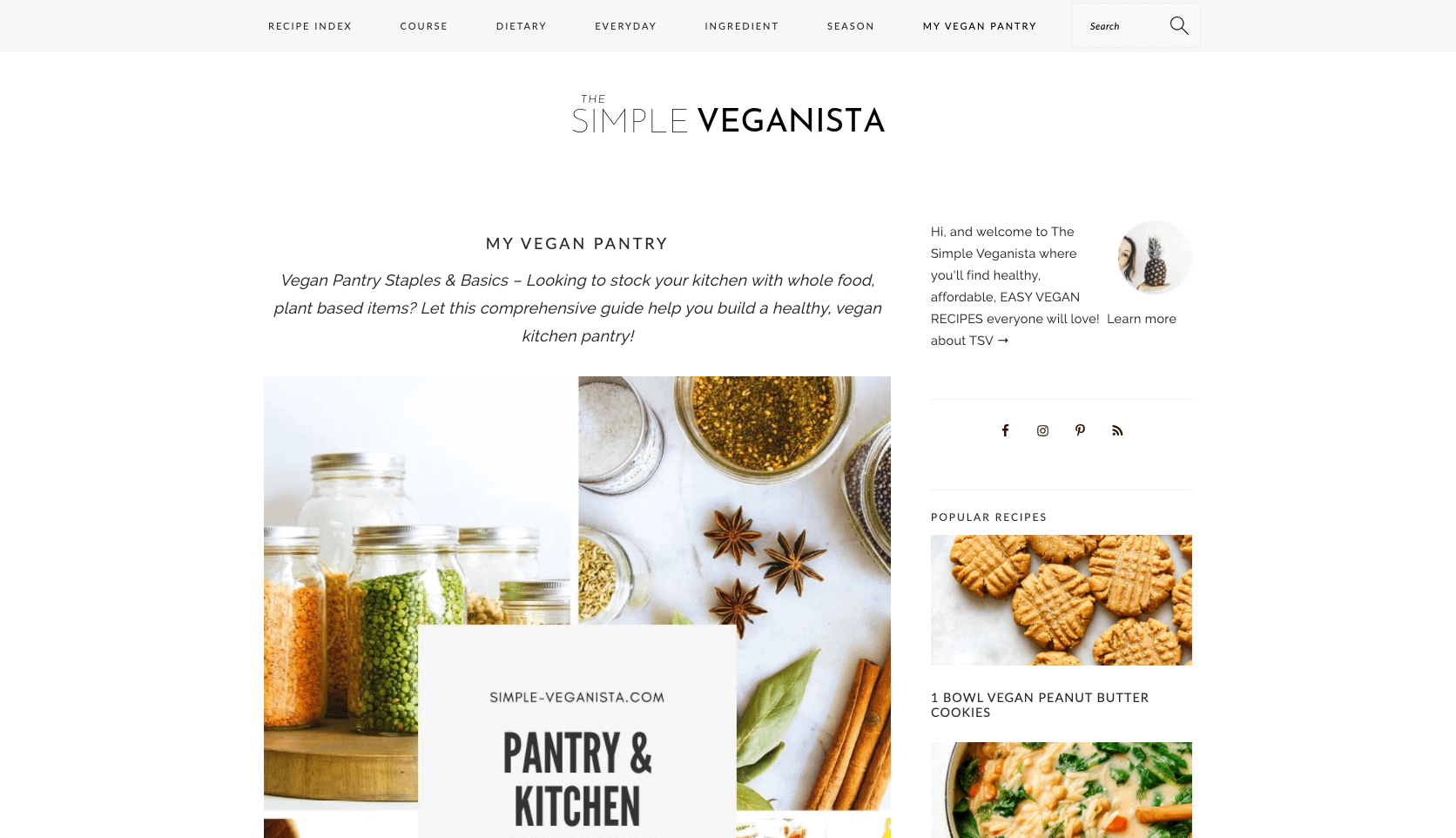 Pantry essentials you need when going vegan