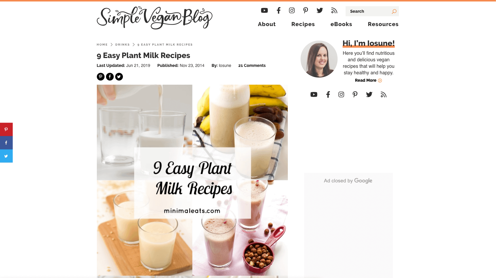 Easy Plant Milk Recipes