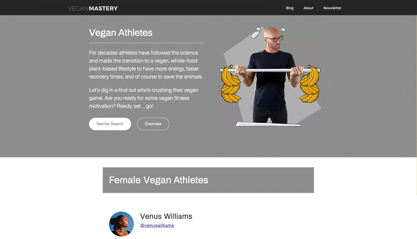 Inspirational vegan Athletes vegan Mastery