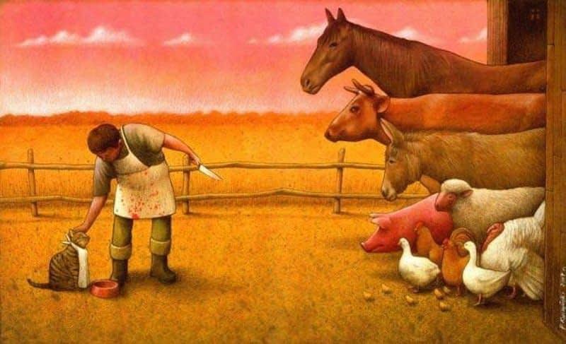 Pets VS Farm Animals Cognitive Dissonance